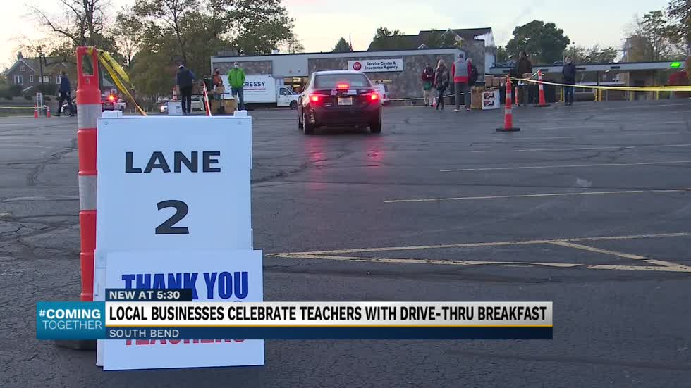 TCU teams up with South Bend restaurants to honor teachers